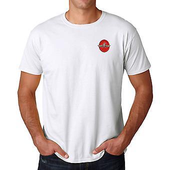 USMC Marine Recon Logo - brodé coton Ringspun T Shirt