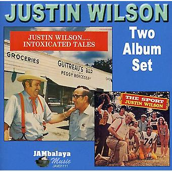 Justin Wilson - Intoxicated Tales/Sport [CD] USA import