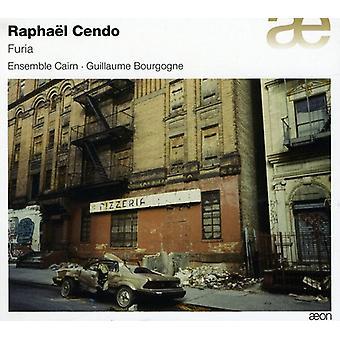 Ensemble Cairn/Bourgogne - Rapha L Cendo: Furia [CD] USA import