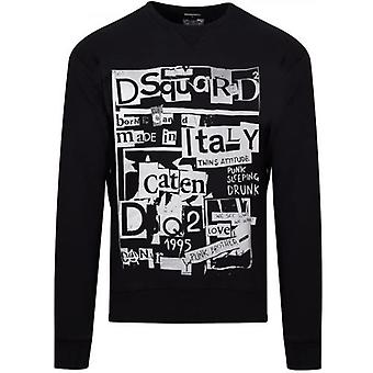 DSQUARED2 Sort Made In Italy Logo Crew Neck Sweatshirt