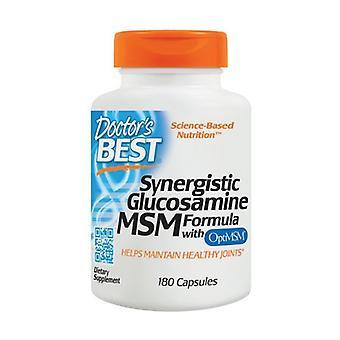 Synergistische Glucosamine MSM Formule met OptiMSM 180 capsules