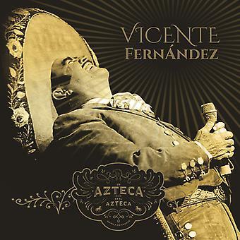 Vicente Fernandez - Un Azteca En El Azteca 1 [CD] USA import