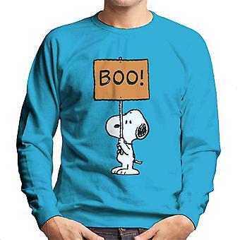 Pinda's Halloween Boo snoopy mannen ' s Sweatshirt