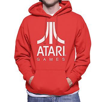 Atari Spill Logo Menn's Hettegenser