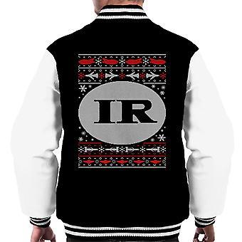 Thunderbirds IR Christmas Design Men's Varsity Jacket