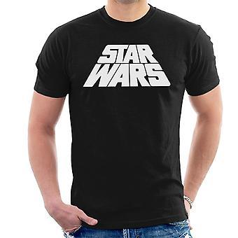 Star Wars Warped logo miesten ' s T-paita