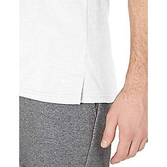 Essentials Men's Performance Cotton Tank Top Shirt, White, Large