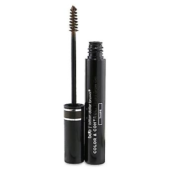 Billion Dollar Brows Color & Control: Tinted Brow Gel - # Taupe 5ml/0.169oz