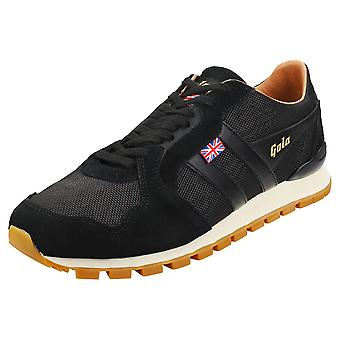 Gola Ranger -made In England- Mens Fashion Trainers in Black Gum