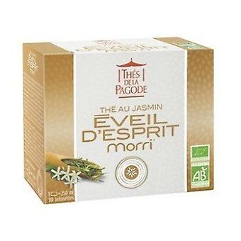 MORRI BIO Jasmine Green Tea - Enlightenment 30 infusion bags