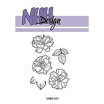 NHH Design Flower 5 Clear Stamps