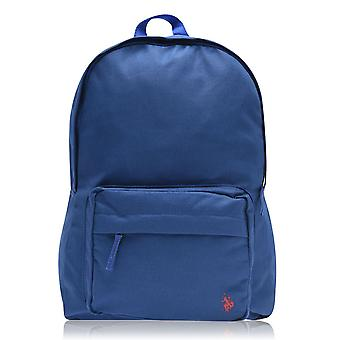 US Polo Assn Unisex Core Backpack Zip Closure Pockets Bag Back Pack