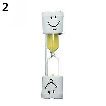 Children Toothbrush Timer 2 Minute Hourglass - Cooking Game Kids Toy Sand Hour Clock Home Decor