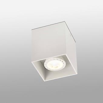1 licht vierkant oppervlak gemonteerd Downlight White, GU10