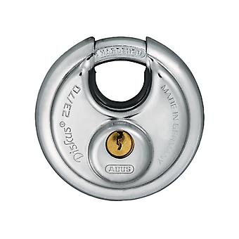 ABUS 23/70mm Diskus Padlock Carded Keyed Alike 44757 ABU2370C