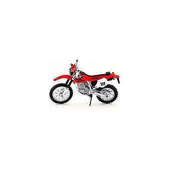 Maisto Honda XR400R Moottoripyörä 1:18 Punainen