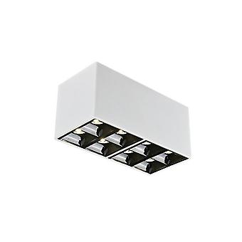 18w Small Down Light - Surface Mounted, Ceiling Square Bold, Thin Double