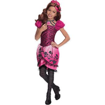 Girls Age 3 - 8 Years Ever After High Briar Beauty Costume Fancy Dress