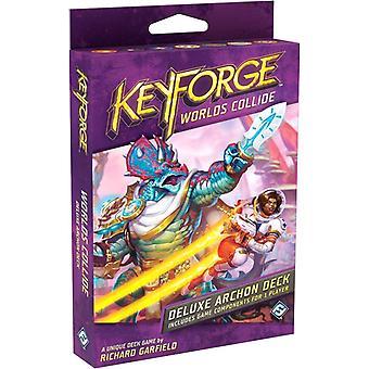 Worlds Collide Deluxe Deck KeyForge