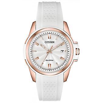 Kansalainen Hyvät Eco-Drive Hihna WR100 Watch FE6136-01A