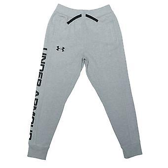 Boy's Under Armour Junior JD Knit Jog Pants en gris