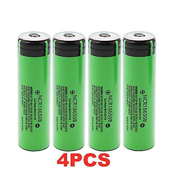 3.7v 18650 Lithium Rechargeable Batteries And 3400mah Charger