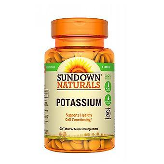 Sundown Naturals Monilähde Kalium, 12 X 90 Tabs