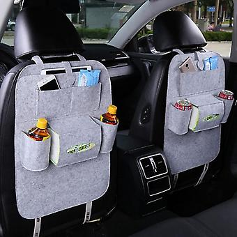 Bil bagsæde arrangør, opbevaring hængende taske med multi-lomme