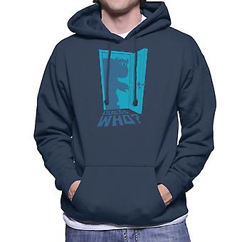 Pixar Monsters Inc Guess Who Sully Men's Hooded Sweatshirt