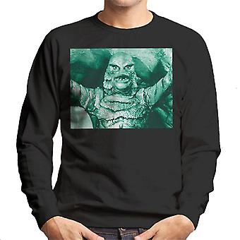 The Creature From The Black Lagoon Cave Scene Men's Sweatshirt