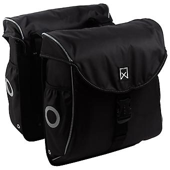 Willex Bicycle Bags 300 Flexi 24 L Black and Silver