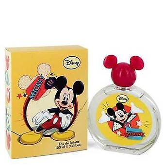 Mickey egér A Disney Eau De Toilette Spray (csomagolás változhat) 3,4 Oz (férfi) V728-418591