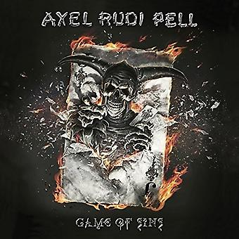 Axel Rudi Pell - Game of Sins [CD] USA import