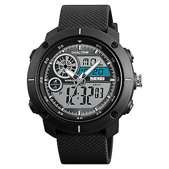 SKMEI 1361 Digital Watch Chronograph Alarm Dual Display Mænd Quartz Digital Watch