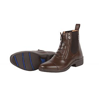 Dublin Paramount Side Zip Boots - Brown