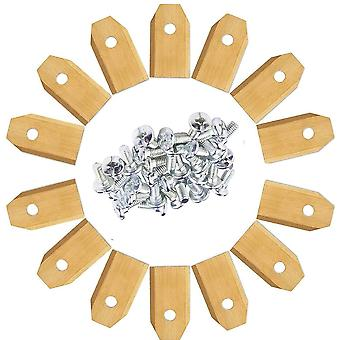 Lawn Robot Blade Golden, Titanium Plating, Mover Replacement Blade