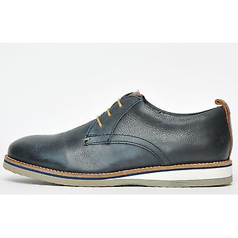 Base London Driscoll Leather Softy Navy