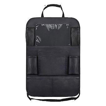 Waterproof Vehicle Storage Bag, Car Seat Back Protector Cover For Kick Mat,