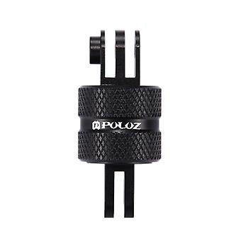 PULUZ 360 Degree Rotation CNC Swivel Pivot Extension Arm Tripod Mount for GoPro HERO9 Black /HERO8 Black / Max / HERO7, DJI OSMO Action, Xiaoyi and Ot
