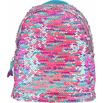 Top modello backpack Fantasy Modello Mermaid Sequins Pink
