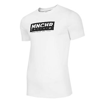 4F TSM027 H4Z20TSM02710S universal ympäri vuoden miesten t-paita