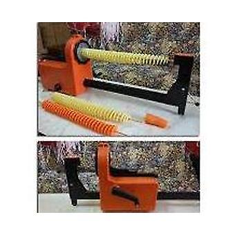آلة بطاطس كهربائية رقاقة التلقائي الشد تدور قطع آلة برج البطاطس