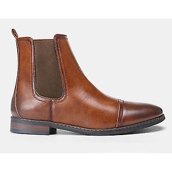 Brittiläinen trendi, pointy boot low-korkoinen Chelsea Men's Boots ja muoti