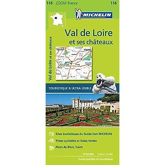 Chateaux of the Loire  Zoom Map 116 Map Michelin Zoom Maps 116