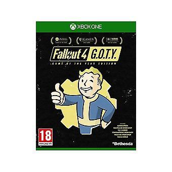 Fallout 4 vuoden peli-versio Xbox One