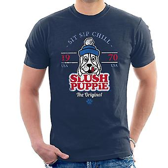 Slush Puppie Retro Sit Sip Chill Mænd's T-shirt