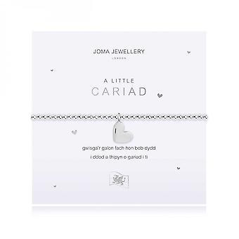 Joma Jewellery A Little Love Silver 17.5cm Stretch Bracelet 4019