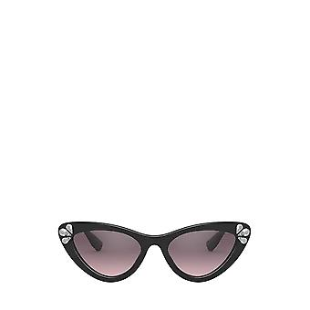 Miu Miu MU 01VS black female sunglasses
