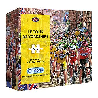 Gibsons pussel Le Tour de Yorkshire 500 bitar Gift Collection