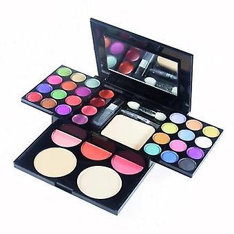 Makeup sæt med 33 forskellige farver